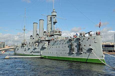 Крейсер Аврора в наши дни фото