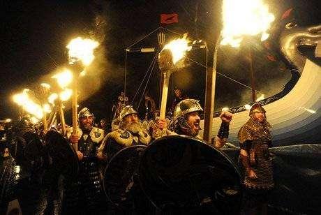 праздник викингов Апхеллио фото