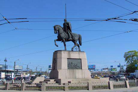 Площадь Александра Невского фото