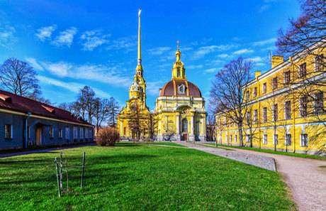 Петропавловский собор фото