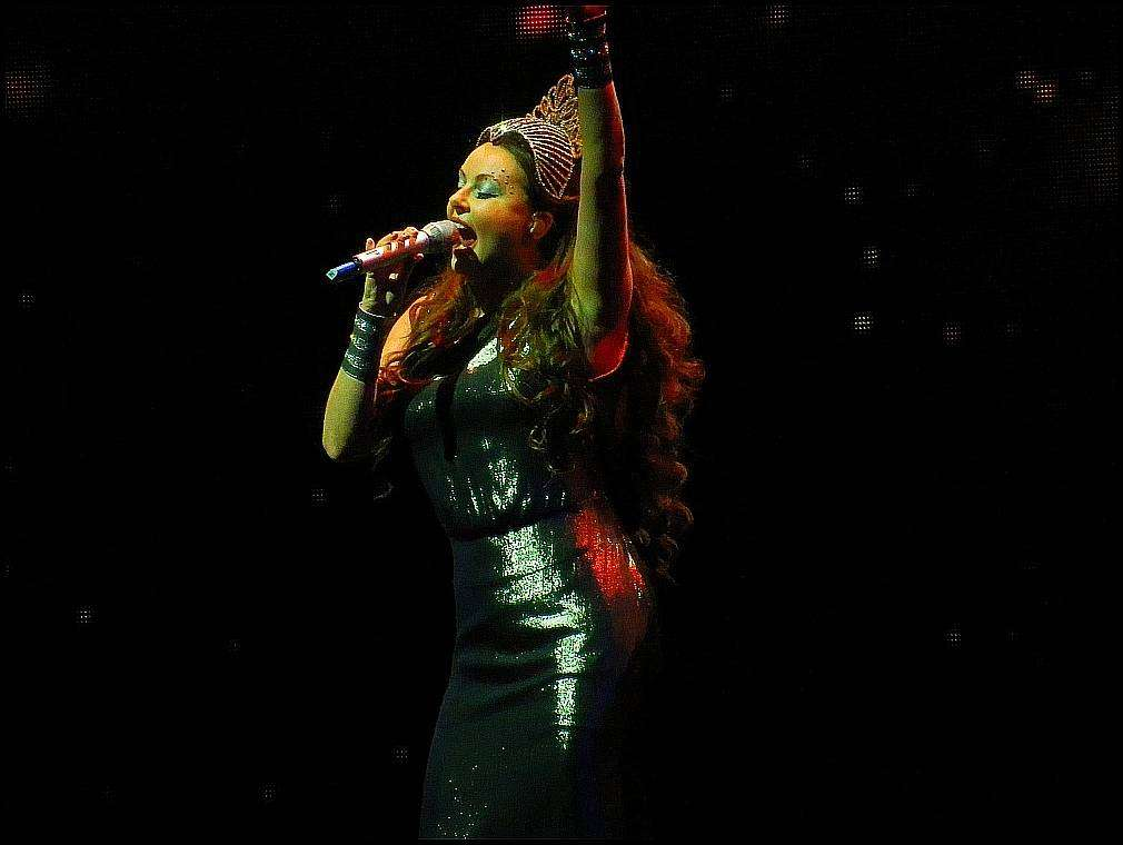 Сара Брайтман фото с концерта