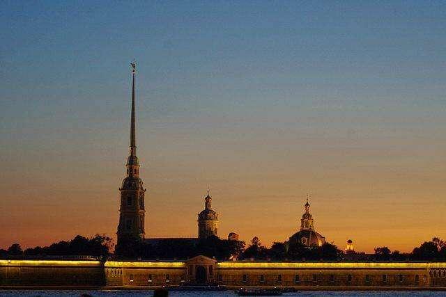Петропавловская крепость Санкт-Петербурга фото