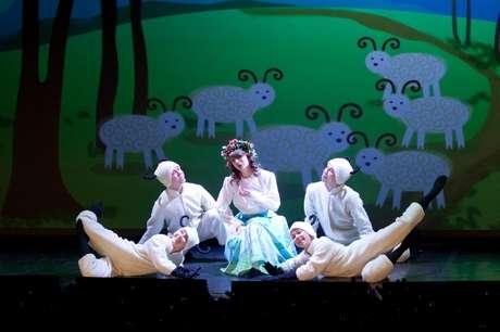 бастьен и бастьенна, опера для детей, опера в картинках, опера, спб, эрмитажный театр